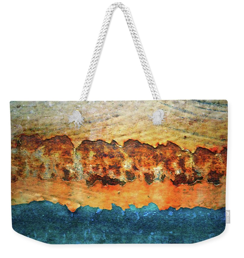 Urban Weekender Tote Bag featuring the photograph The Layers by Tara Turner