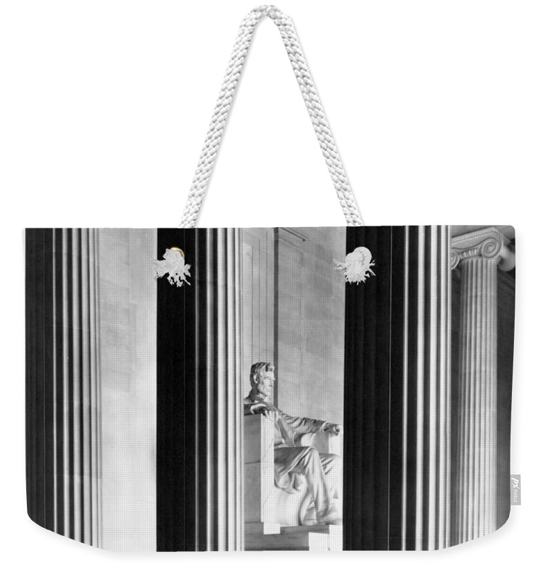 Lincoln Memorial Weekender Tote Bags