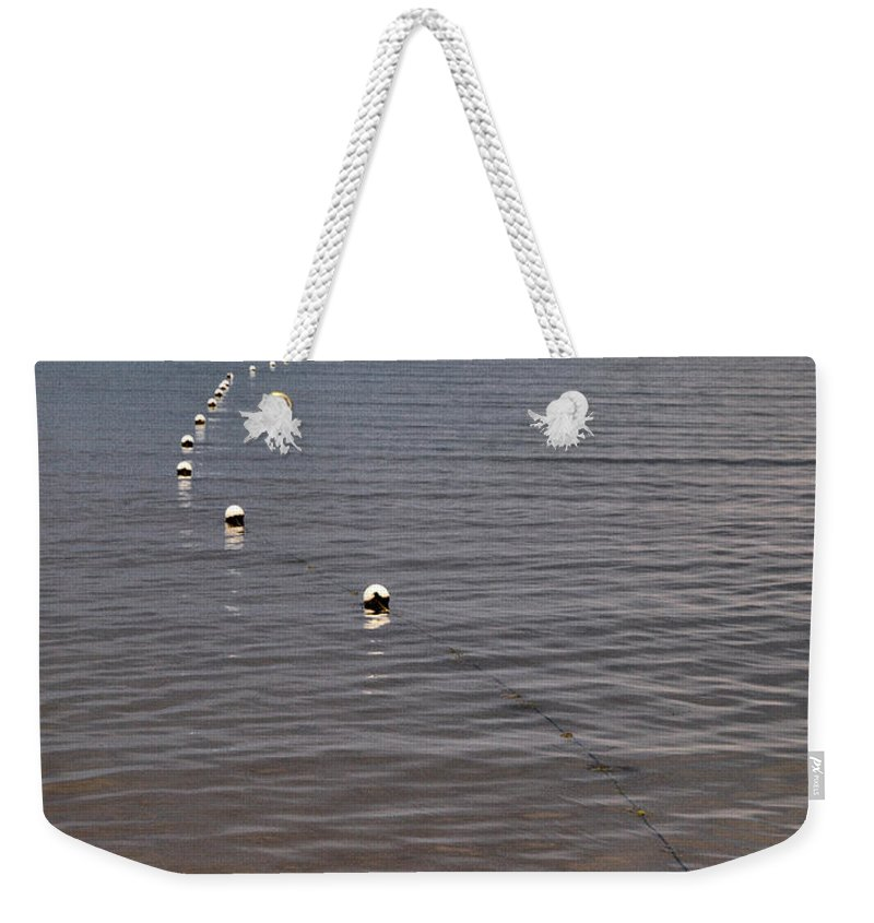 Lehtokukka Weekender Tote Bag featuring the photograph The Line by Jouko Lehto