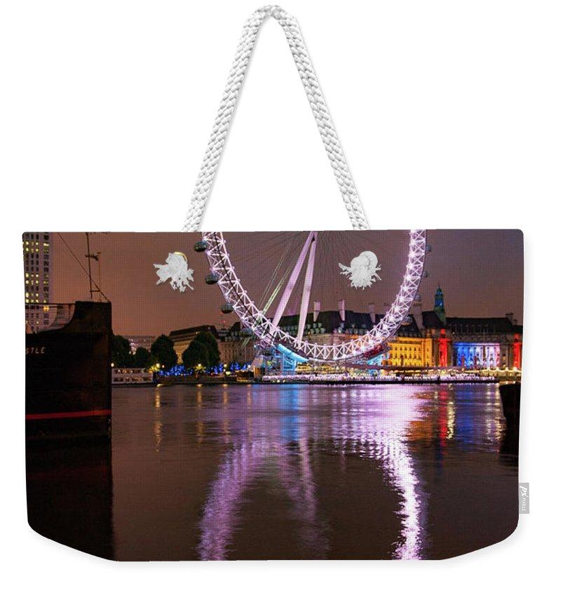 London Weekender Tote Bags