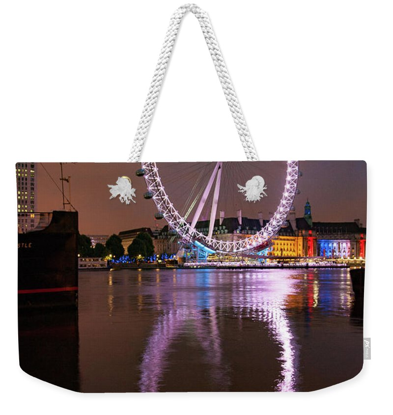 London Eye Weekender Tote Bags