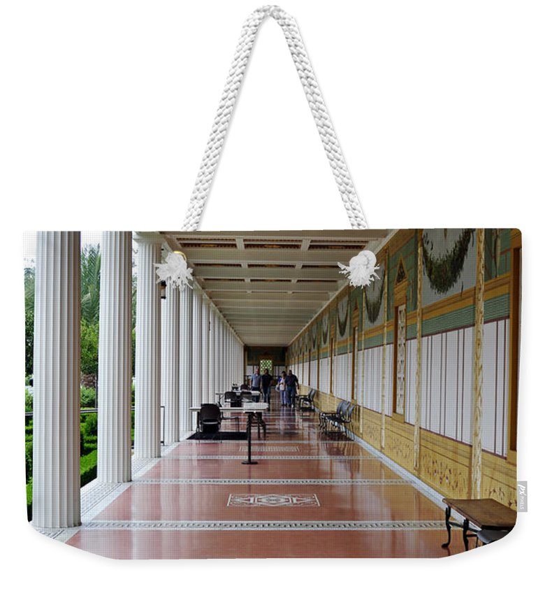 Clay Weekender Tote Bag featuring the photograph The Long Walk by Clayton Bruster