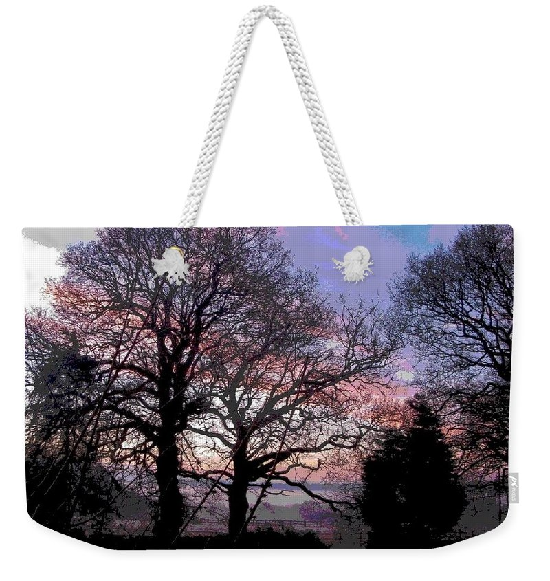 The Lookout Weekender Tote Bag featuring the photograph The Lookout by Maria Joy