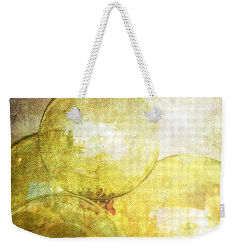 Christmas Weekender Tote Bag featuring the photograph The Magic Of Christmas by Susanne Van Hulst