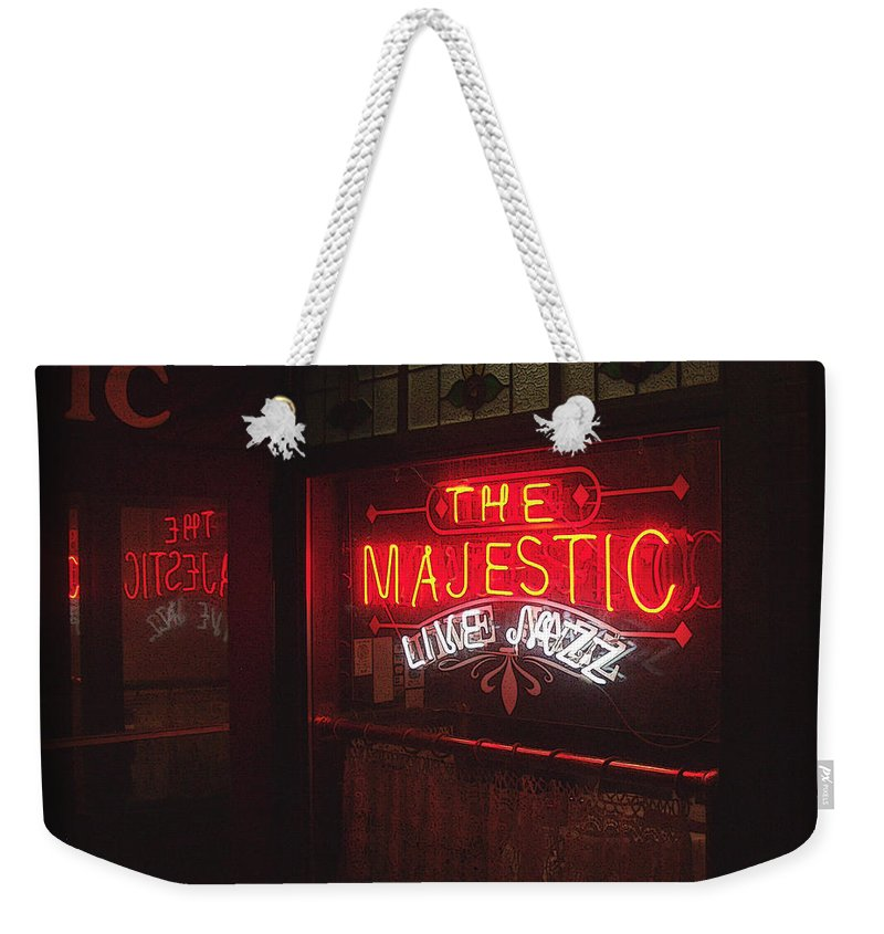 Majestic Weekender Tote Bag featuring the photograph The Majestic by Tim Nyberg