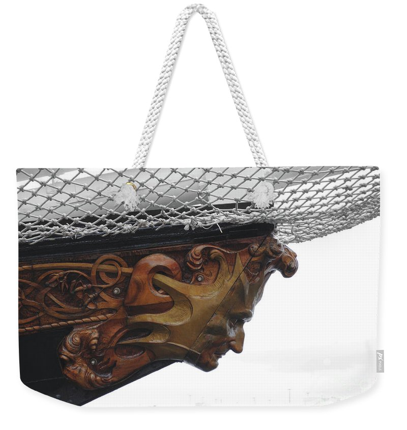 Mast Head Weekender Tote Bag featuring the photograph The Mast Head by Jost Houk