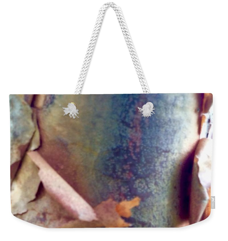 Tree Weekender Tote Bag featuring the photograph The Master's Brush 2 by Peggie Koroncey