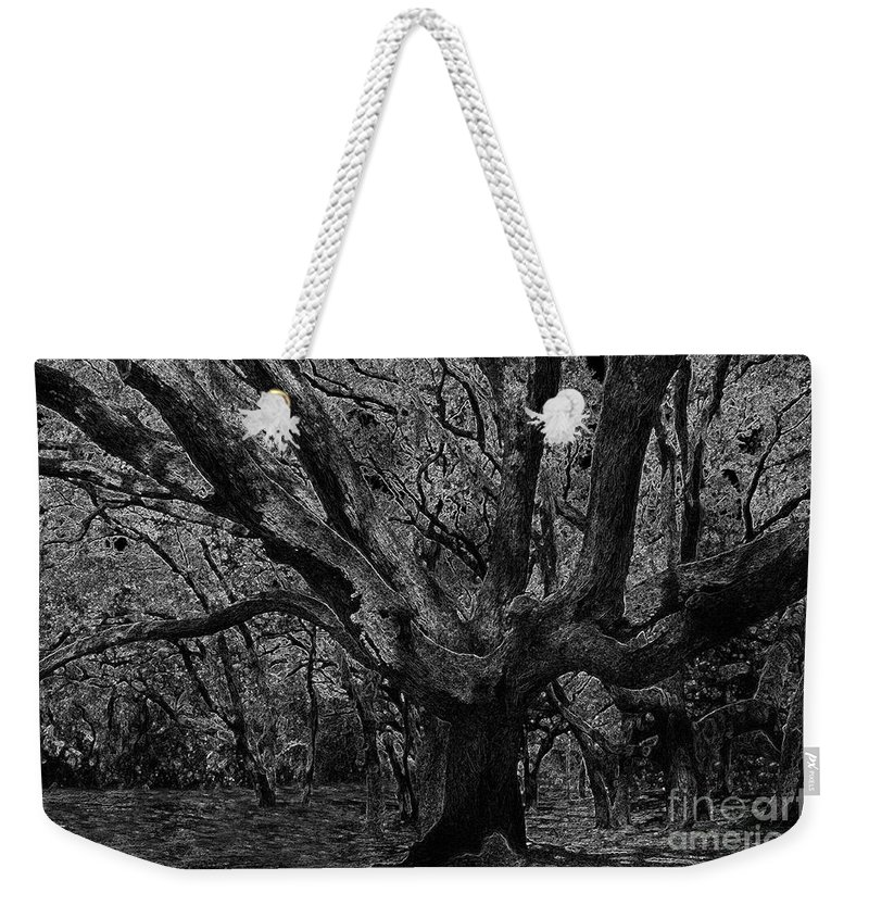 Art Weekender Tote Bag featuring the painting The Matriarch by David Lee Thompson