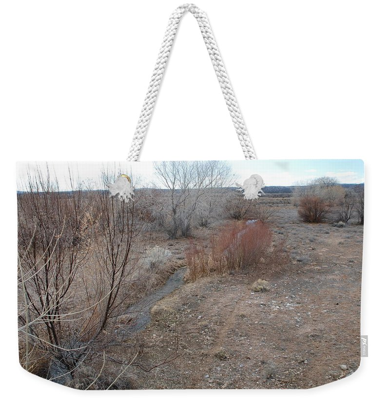 River Weekender Tote Bag featuring the photograph The Mighty Santa Fe River by Rob Hans