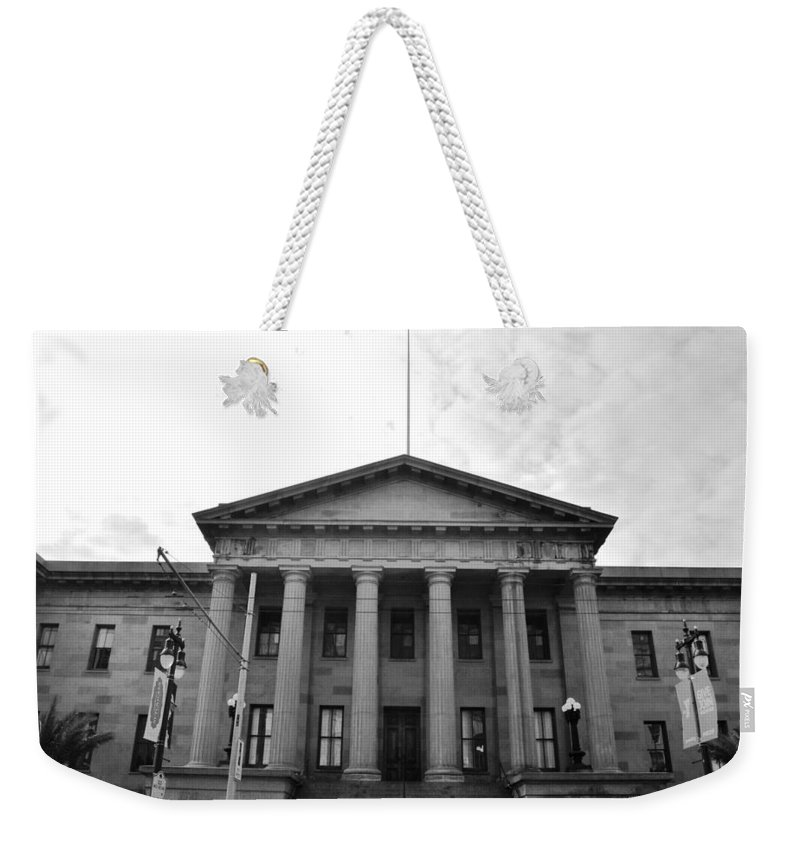 City Weekender Tote Bag featuring the photograph The Mint - San Francisco by Matt Harang