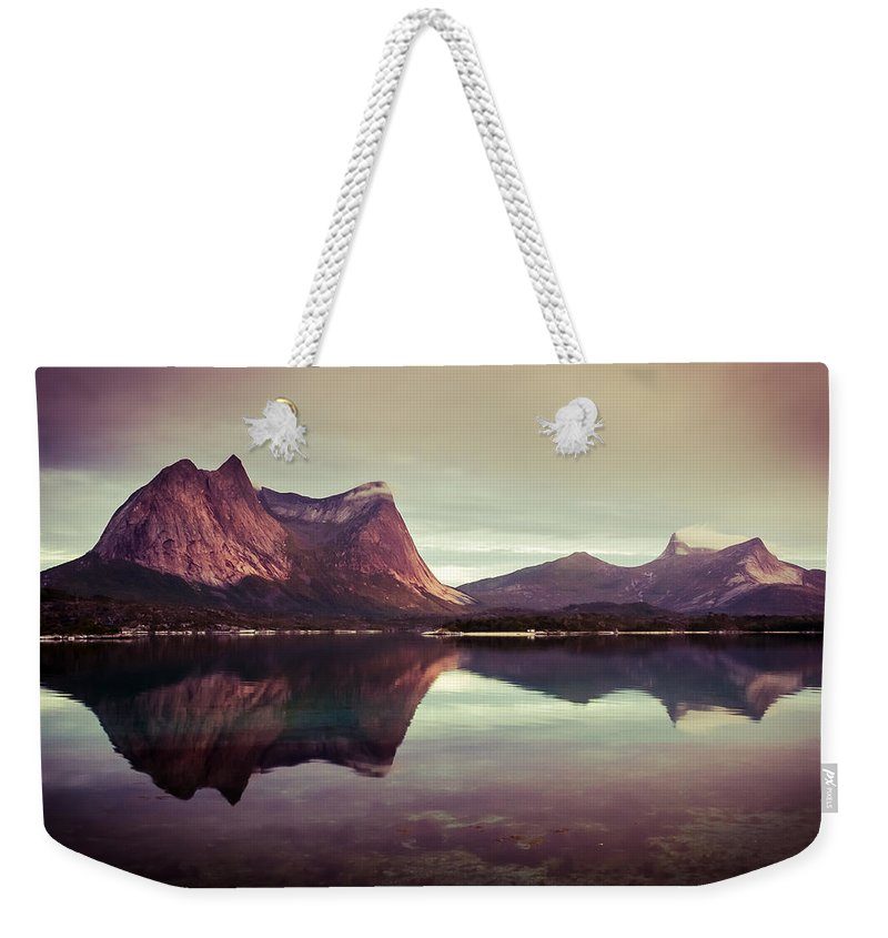 Europe Weekender Tote Bag featuring the photograph The Mirroring by Radek Spanninger
