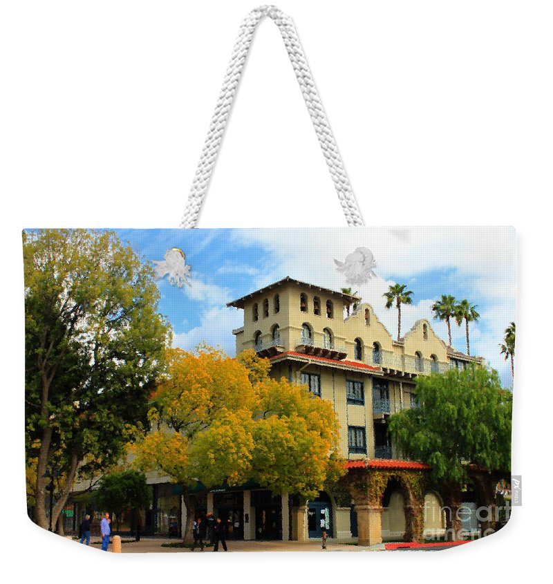 Adobe Weekender Tote Bag featuring the photograph The Mission by James Eddy