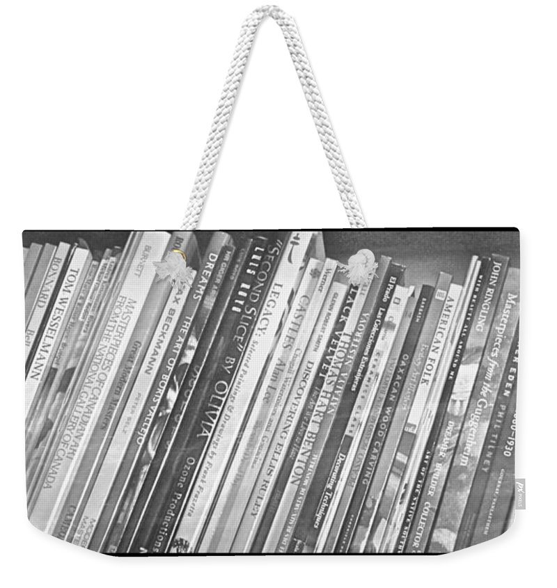 Books Weekender Tote Bag featuring the photograph The Muses #2 by Mario MJ Perron