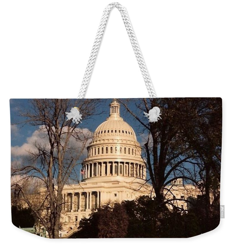 Capitol Building Weekender Tote Bag featuring the photograph The Nation's Capitol by Lauri Novak