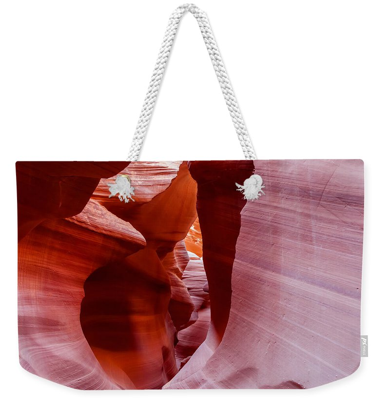 Landscape Weekender Tote Bag featuring the photograph The Natural Sculpture 6 by Jonathan Nguyen
