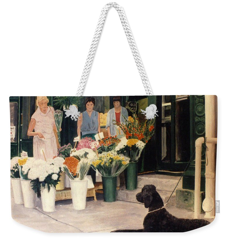 Mums Weekender Tote Bag featuring the painting The New Deal by Steve Karol