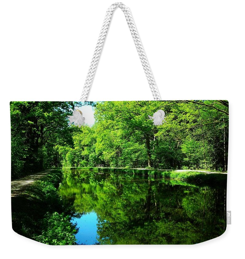 Europe Weekender Tote Bag featuring the photograph The Old Canal ... by Juergen Weiss