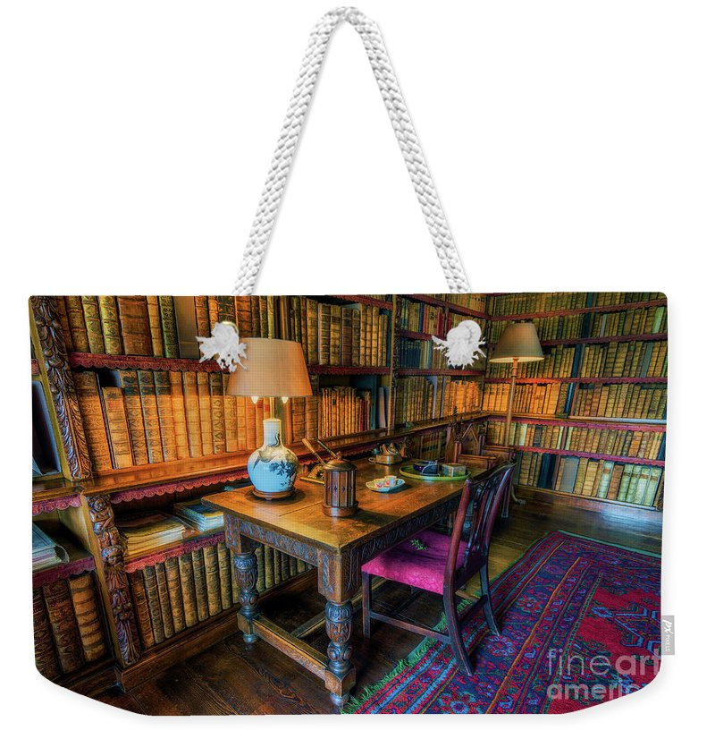 Library Weekender Tote Bag featuring the photograph The Old Library by Ian Mitchell