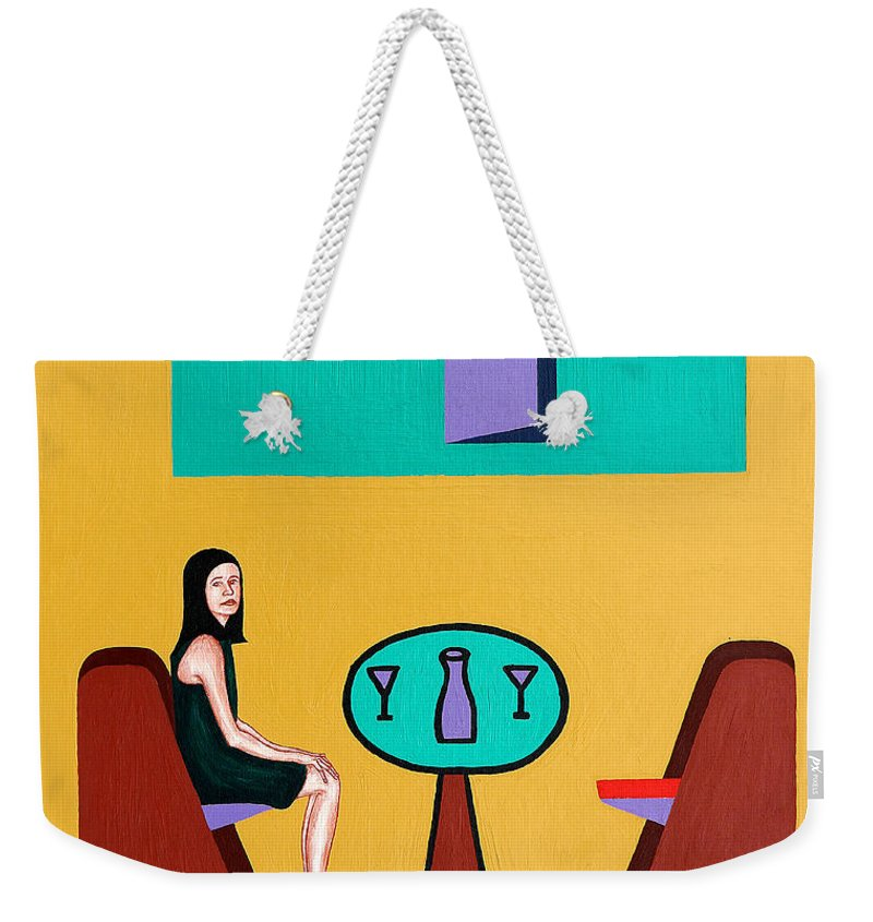 Love Weekender Tote Bag featuring the painting The Open Door by Patrick J Murphy