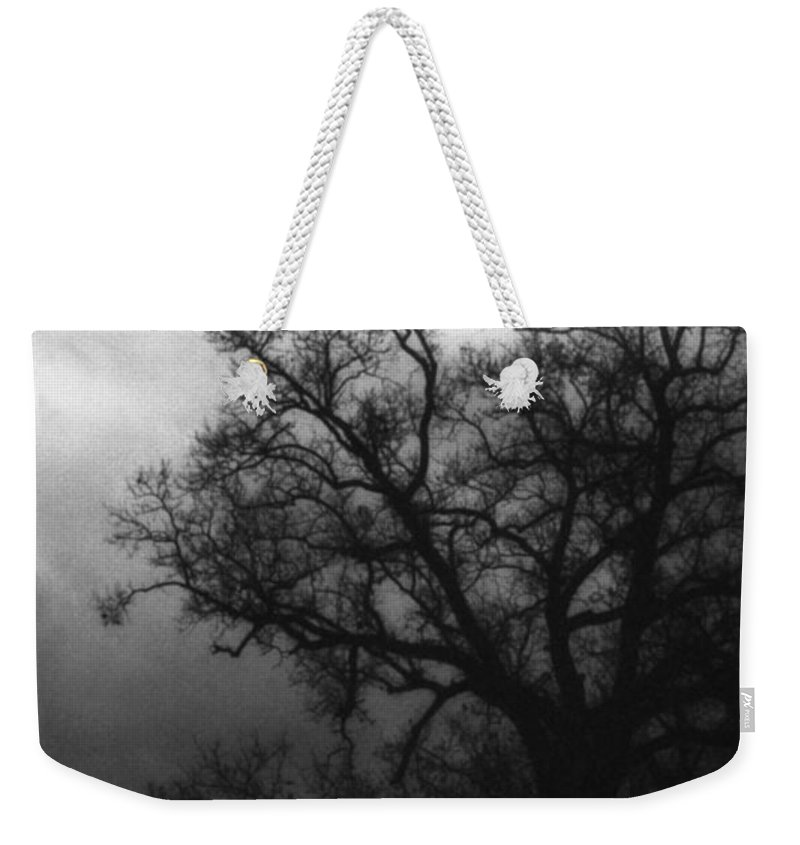 Eerie Weekender Tote Bag featuring the photograph The Other Side by Richard Rizzo