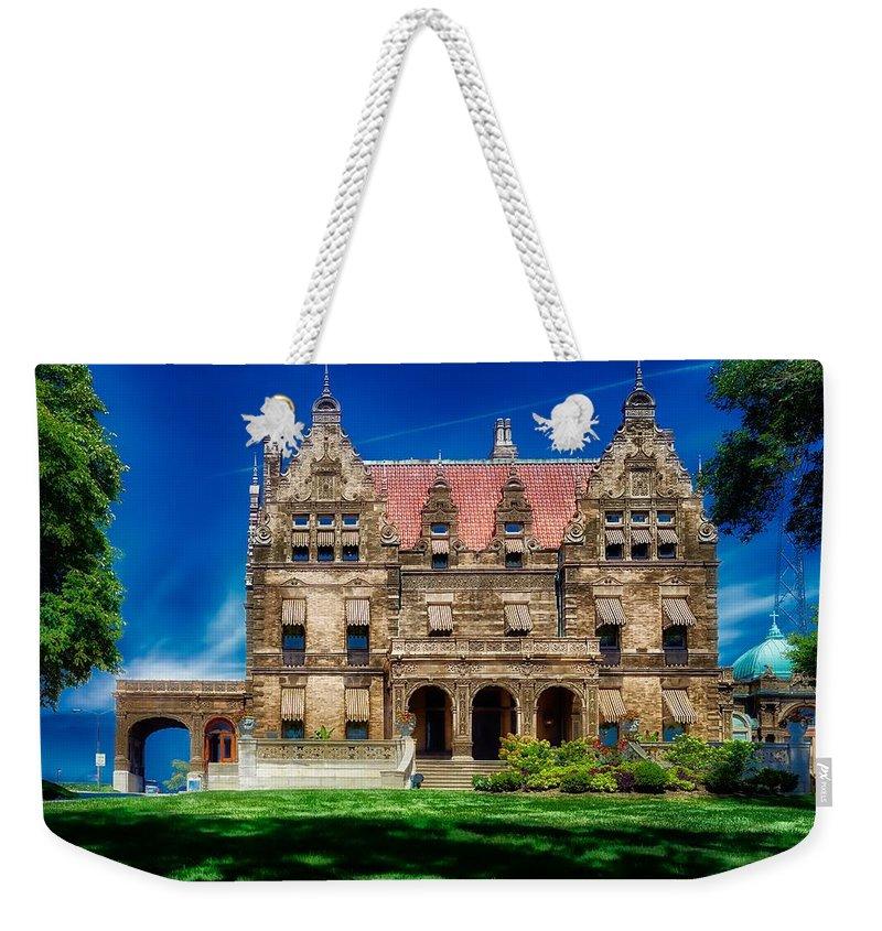 Pabst Mansion Weekender Tote Bags