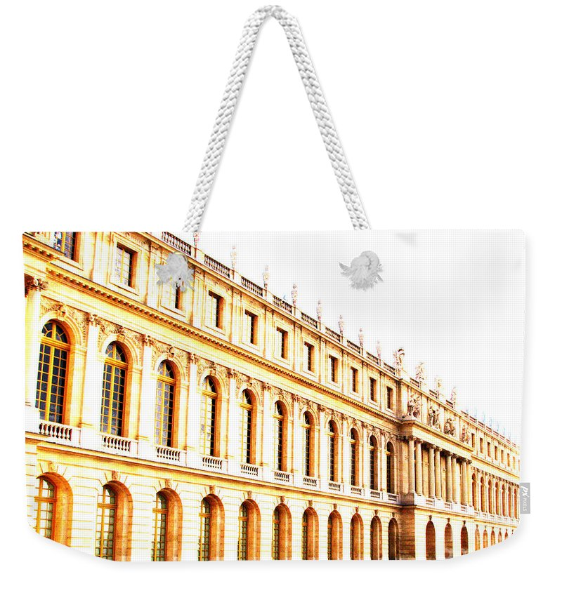 Versailles Weekender Tote Bag featuring the photograph The Palace by Amanda Barcon
