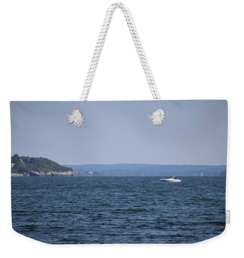 Weekender Tote Bag featuring the photograph The Passage by Arthur DuBois
