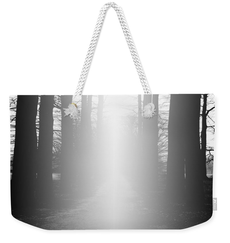 Abstract Weekender Tote Bag featuring the digital art The Path To Heaven by Diane Parnell