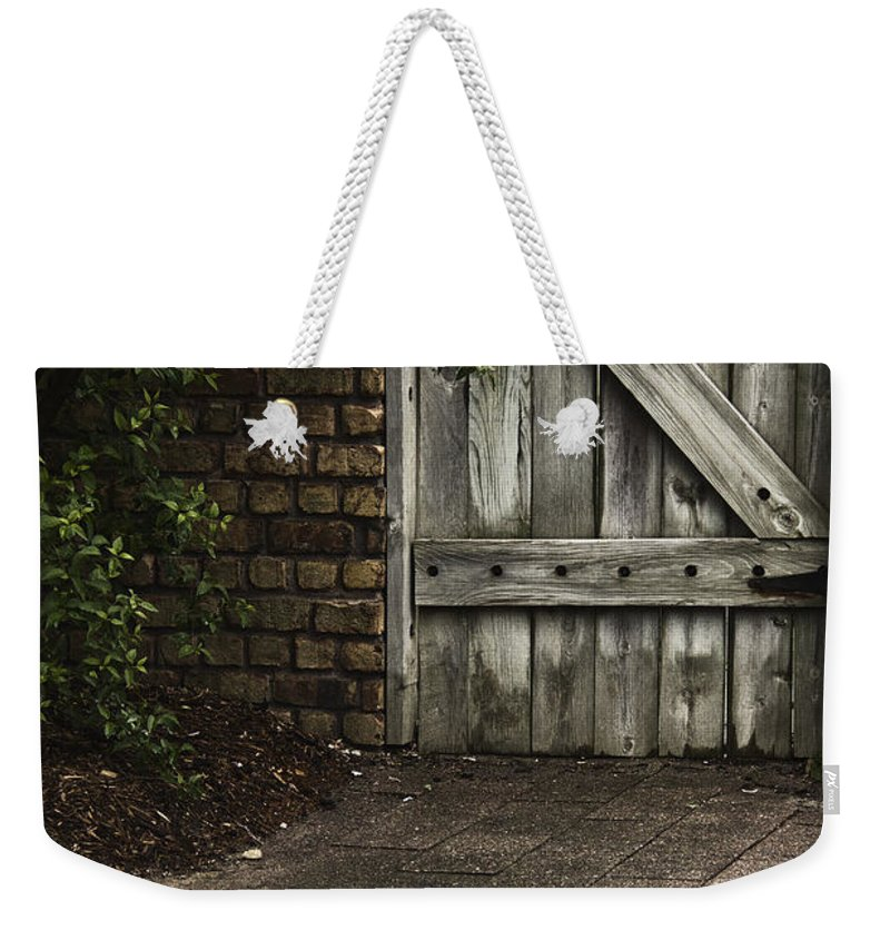 Door Weekender Tote Bag featuring the photograph The Path To The Doorway by Margie Hurwich