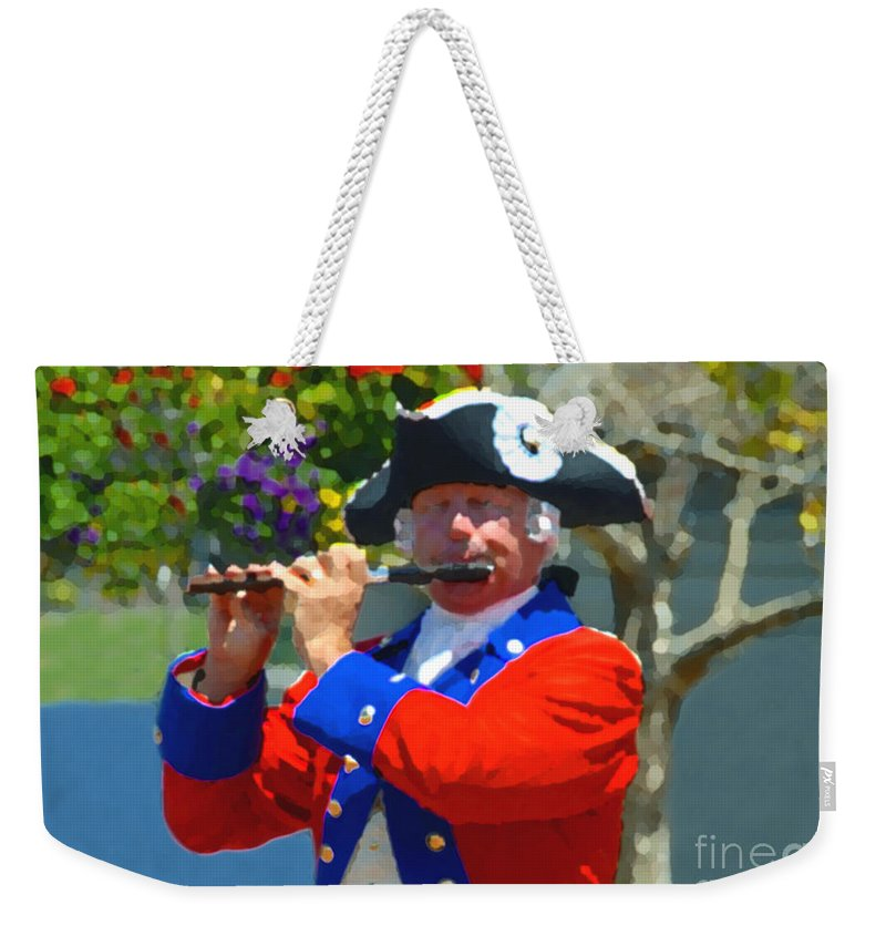 Patriot Weekender Tote Bag featuring the photograph The Patriot by David Lee Thompson