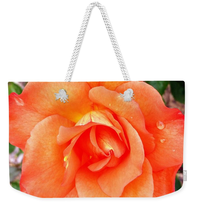 Flowers Weekender Tote Bag featuring the photograph The peaceful place 9 by Valerie Josi