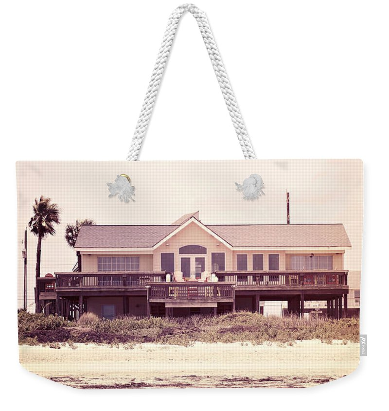 House Weekender Tote Bag featuring the photograph The Perfect Summer by Trish Mistric