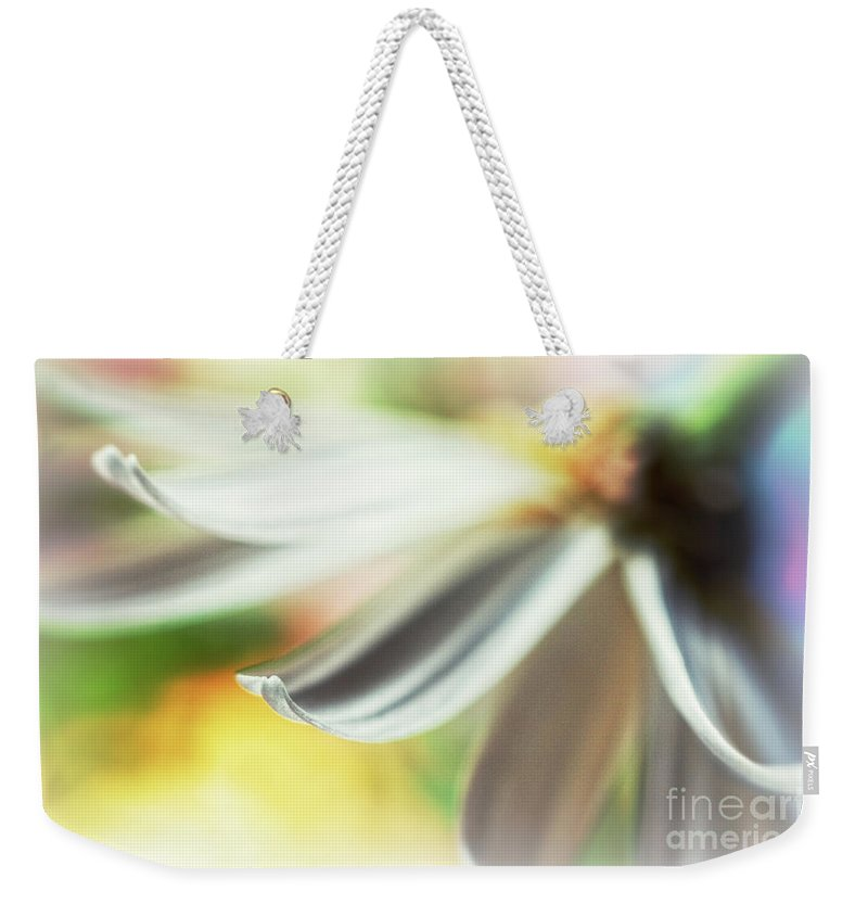 Petal Weekender Tote Bag featuring the photograph The Petal II by Silvia Ganora