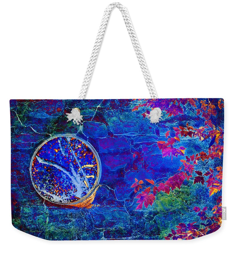 Portal Weekender Tote Bag featuring the photograph The Portal by Phyllis Denton
