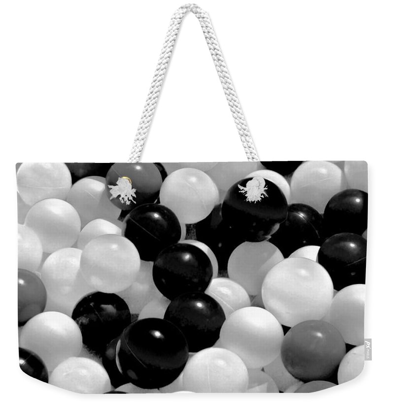 Balls Weekender Tote Bag featuring the photograph Power Balls by Carol F Austin
