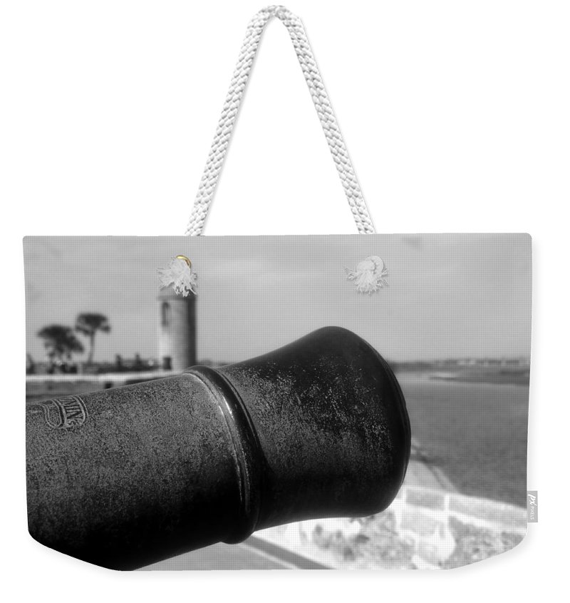 Castillo De San Marcos Weekender Tote Bag featuring the photograph The Power Of Empire by David Lee Thompson