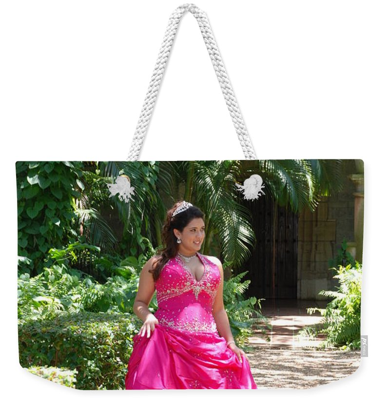 Girl Weekender Tote Bag featuring the photograph The Princess by Rob Hans