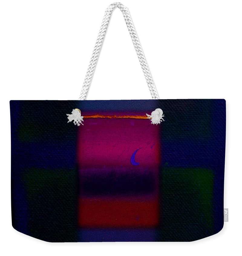 Rothko Weekender Tote Bag featuring the painting The Red Nile by Charles Stuart