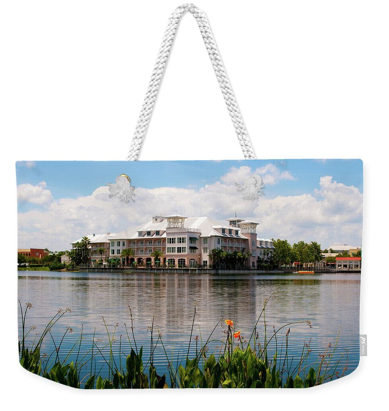 Resort Weekender Tote Bag featuring the photograph The Resort by Todd Aarnes