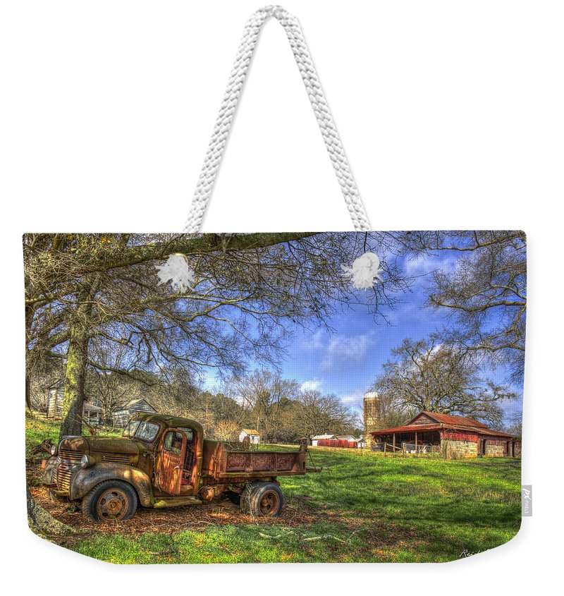 Reid Callaway The Resting Place Shadows Weekender Tote Bag featuring the photograph The Resting Place Shadows by Reid Callaway