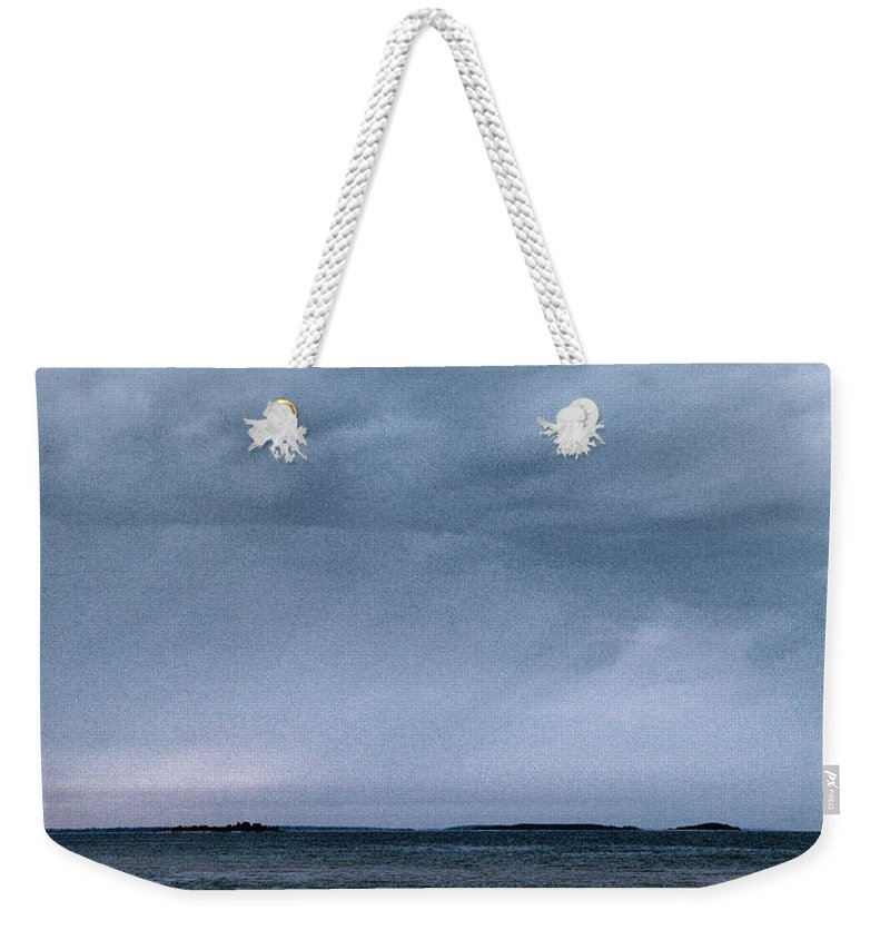 Lehtokukka Weekender Tote Bag featuring the photograph The Rising Storm by Jouko Lehto