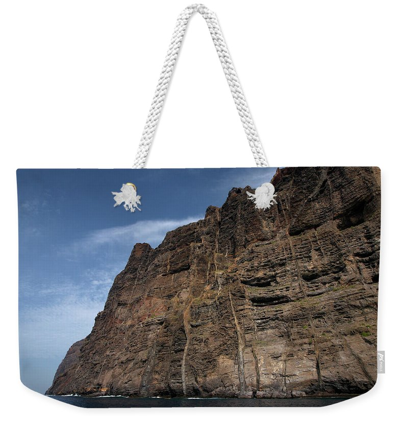 Valasretki Weekender Tote Bag featuring the photograph The Rocks Of Los Gigantes 1 by Jouko Lehto