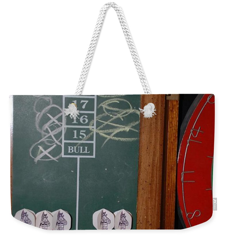 Macro Weekender Tote Bag featuring the photograph The Score by Rob Hans