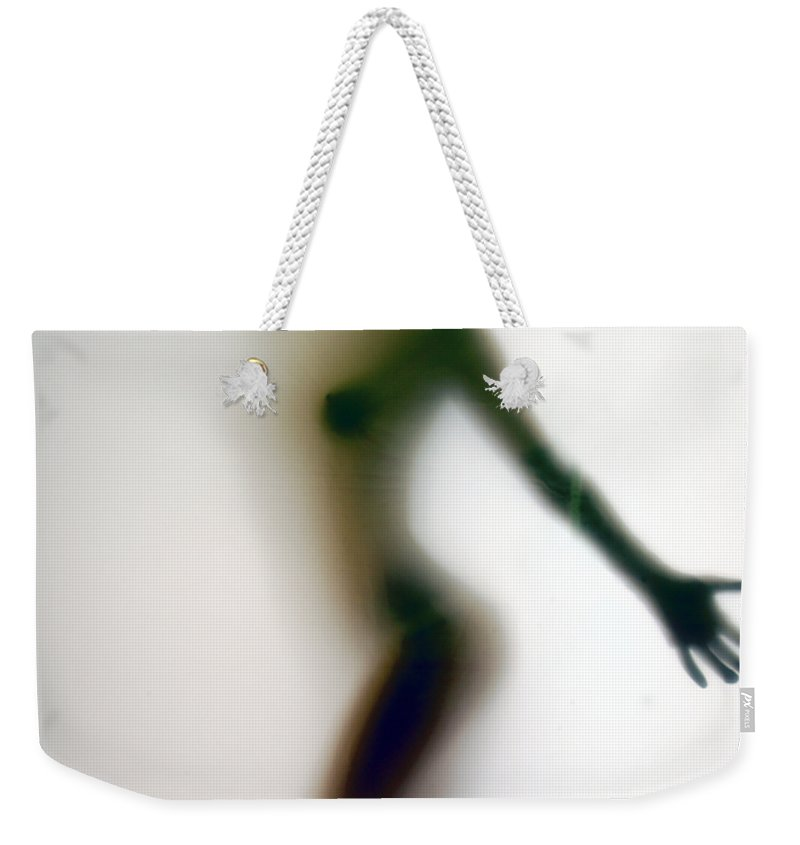 Clay Weekender Tote Bag featuring the photograph The Screening Room II by Clayton Bruster