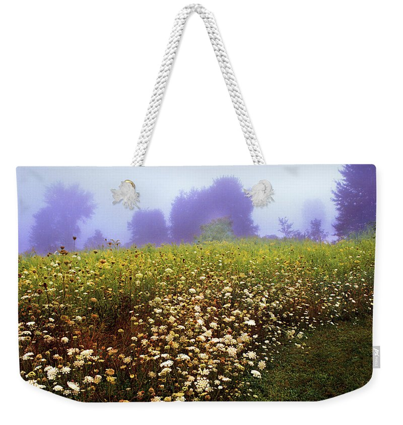 New York State Weekender Tote Bag featuring the photograph The Secret Garden by Yuri Lev