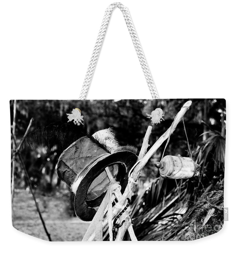 Shaman Weekender Tote Bag featuring the photograph The Shaman's Hat by David Lee Thompson