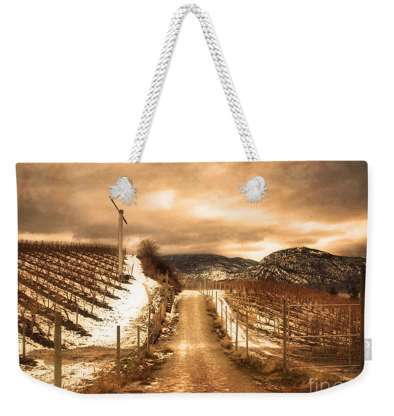 Kvr Weekender Tote Bag featuring the photograph The Small Hill by Tara Turner