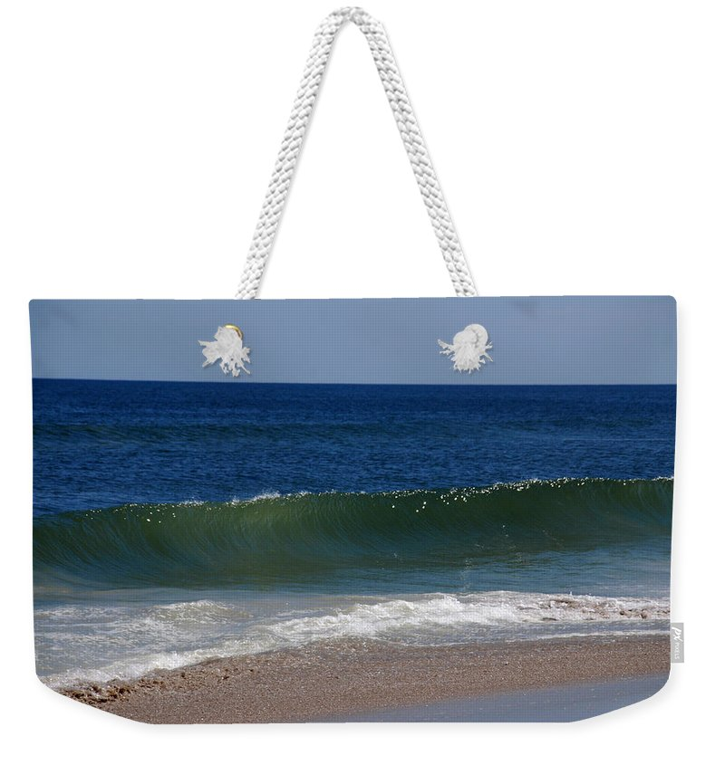 Waves Weekender Tote Bag featuring the photograph The Song Of The Ocean by Susanne Van Hulst