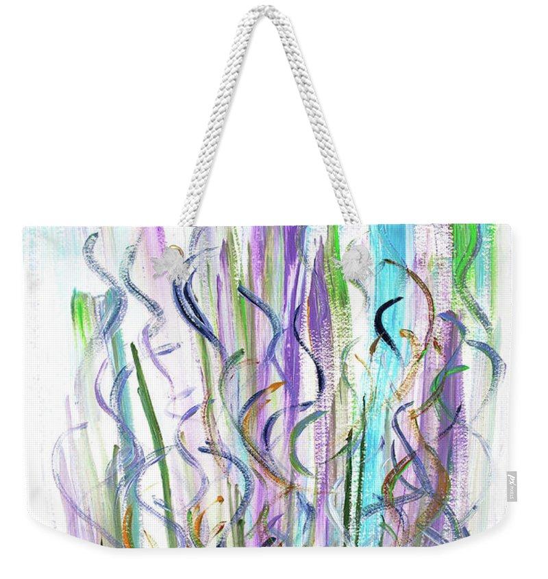 Spirit Weekender Tote Bag featuring the painting The Spirit by Bjorn Sjogren