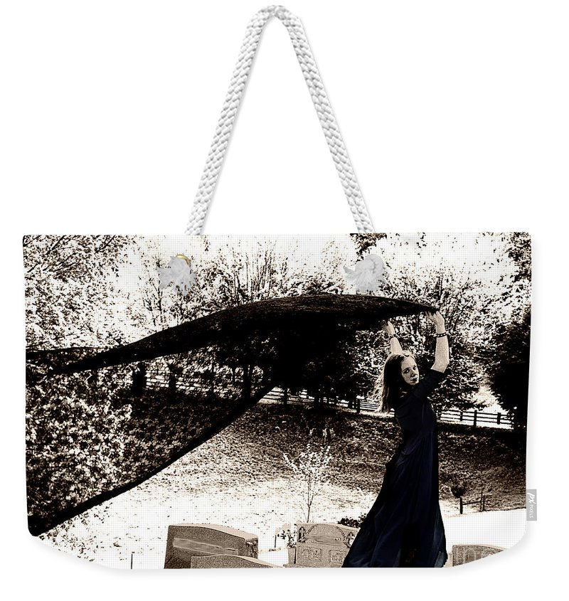 Clay Weekender Tote Bag featuring the photograph The Spirit Moves by Clayton Bruster